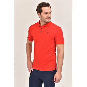PULL BILCEE HOMME COL CH ROUGE
