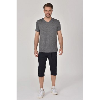 PULL BILCEE HOMME COL V GRIS F