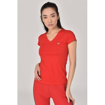 PULL BILCEE FEMME COTON ROUGE