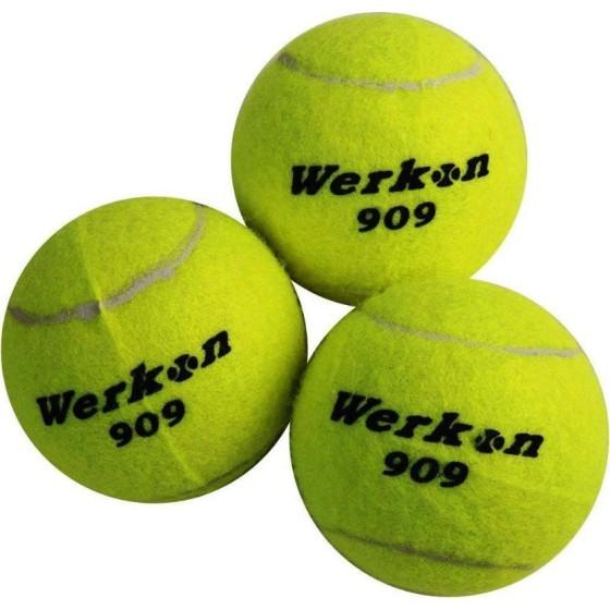 BOITE 4 BALLS TENNIS WERKON